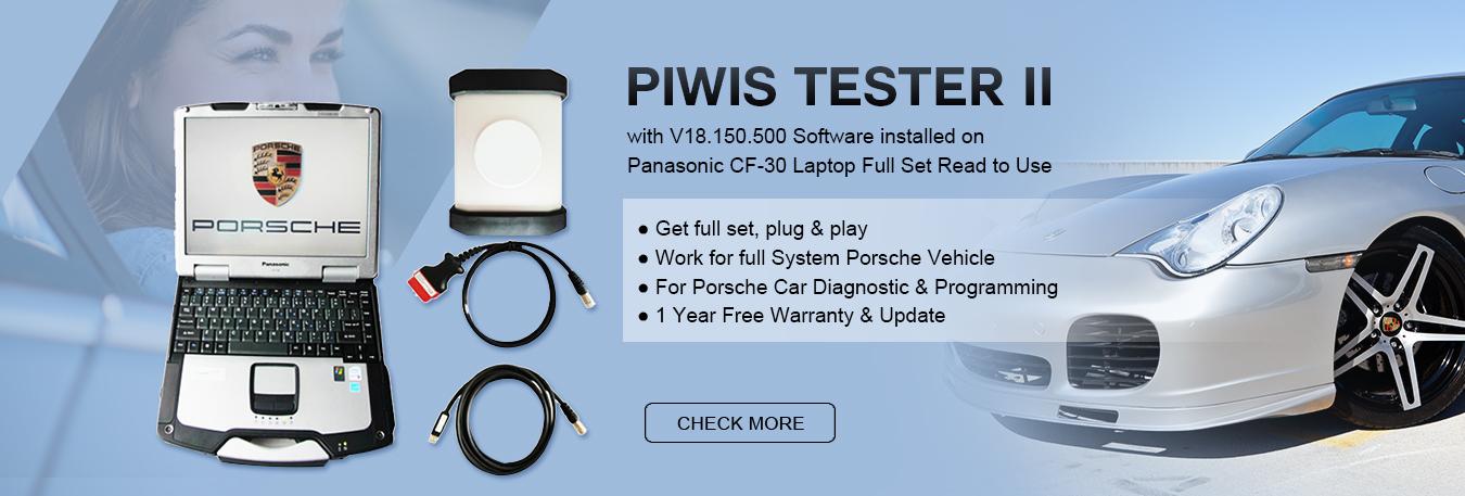 Professional Porsche Scanner Supplier -