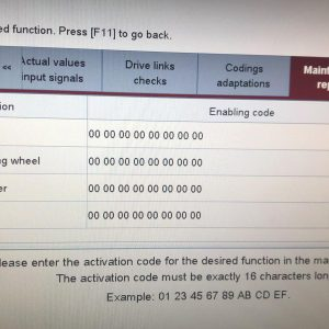 Porsche coding adapting Porsche Activation Code