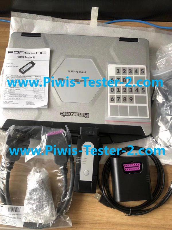 piwis 3 for Porsche piwis original system with panasonic CF54 laptop